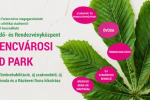 Baranyi Krisztina – A Ferencvárosi Zöld Park a Tiétek lesz!