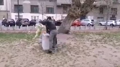 Elfogták a szoborrongálót